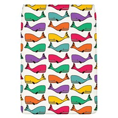 Small Rainbow Whales Flap Covers (L)