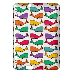 Small Rainbow Whales Kindle Fire HDX Hardshell Case