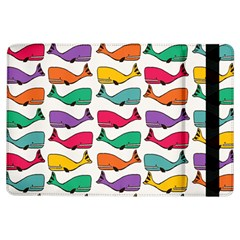 Small Rainbow Whales Ipad Air Flip