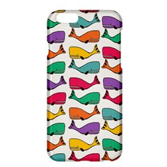 Small Rainbow Whales Apple iPhone 6 Plus/6S Plus Hardshell Case