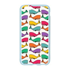 Small Rainbow Whales Apple Seamless iPhone 6/6S Case (Color)