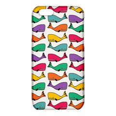 Small Rainbow Whales iPhone 6/6S TPU Case