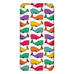 Small Rainbow Whales Iphone 6 Plus/6s Plus Tpu Case