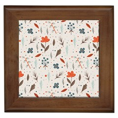 Seamless Floral Patterns  Framed Tiles