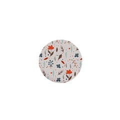 Seamless Floral Patterns  1  Mini Magnets