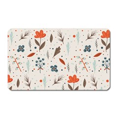Seamless Floral Patterns  Magnet (Rectangular)
