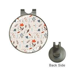 Seamless Floral Patterns  Hat Clips with Golf Markers