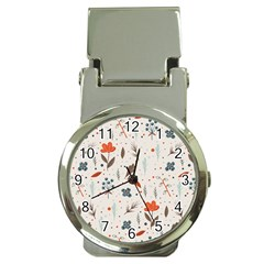 Seamless Floral Patterns  Money Clip Watches