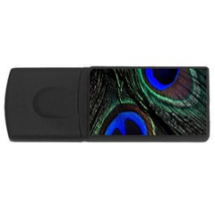 Peacock Feather USB Flash Drive Rectangular (2 GB)