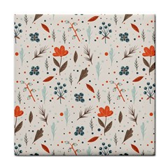 Seamless Floral Patterns  Face Towel