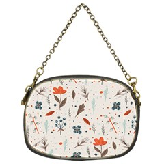 Seamless Floral Patterns  Chain Purses (Two Sides)