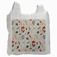 Seamless Floral Patterns  Recycle Bag (One Side)