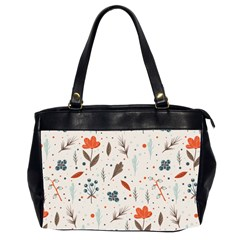 Seamless Floral Patterns  Office Handbags (2 Sides)