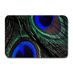 Peacock Feather Plate Mats