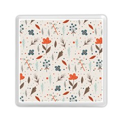 Seamless Floral Patterns  Memory Card Reader (Square)