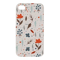 Seamless Floral Patterns  Apple iPhone 4/4S Hardshell Case