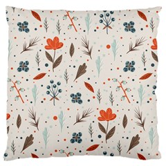 Seamless Floral Patterns  Large Cushion Case (One Side)