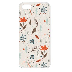 Seamless Floral Patterns  Apple iPhone 5 Seamless Case (White)