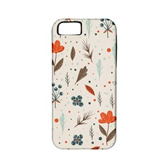 Seamless Floral Patterns  Apple iPhone 5 Classic Hardshell Case (PC+Silicone)