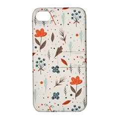 Seamless Floral Patterns  Apple iPhone 4/4S Hardshell Case with Stand