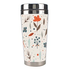 Seamless Floral Patterns  Stainless Steel Travel Tumblers