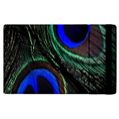 Peacock Feather Apple iPad 2 Flip Case