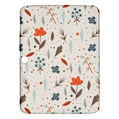 Seamless Floral Patterns  Samsung Galaxy Tab 3 (10.1 ) P5200 Hardshell Case