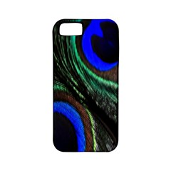 Peacock Feather Apple Iphone 5 Classic Hardshell Case (pc+silicone)