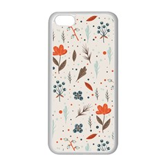 Seamless Floral Patterns  Apple iPhone 5C Seamless Case (White)