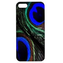 Peacock Feather Apple iPhone 5 Hardshell Case with Stand