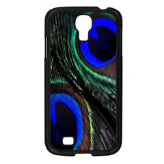 Peacock Feather Samsung Galaxy S4 I9500/ I9505 Case (Black)