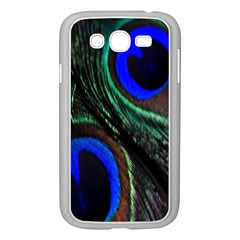 Peacock Feather Samsung Galaxy Grand Duos I9082 Case (white)