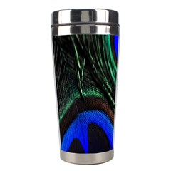 Peacock Feather Stainless Steel Travel Tumblers