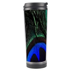Peacock Feather Travel Tumbler