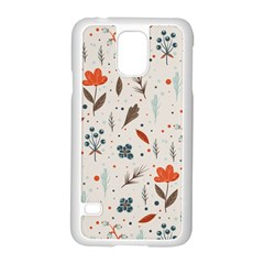 Seamless Floral Patterns  Samsung Galaxy S5 Case (White)