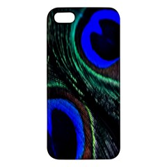 Peacock Feather iPhone 5S/ SE Premium Hardshell Case
