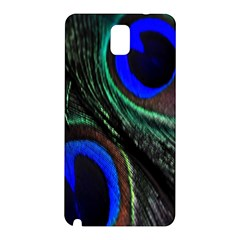 Peacock Feather Samsung Galaxy Note 3 N9005 Hardshell Back Case