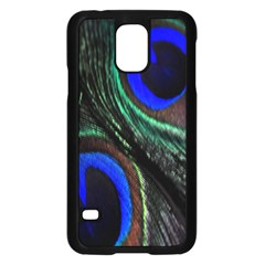 Peacock Feather Samsung Galaxy S5 Case (Black)