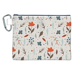 Seamless Floral Patterns  Canvas Cosmetic Bag (XXL)