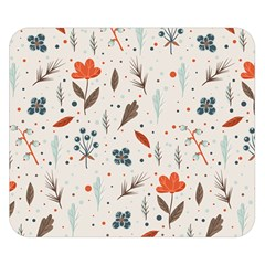 Seamless Floral Patterns  Double Sided Flano Blanket (Small)