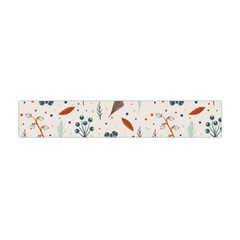 Seamless Floral Patterns  Flano Scarf (Mini)