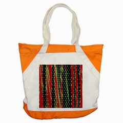 Alien Animal Skin Pattern Accent Tote Bag