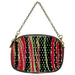 Alien Animal Skin Pattern Chain Purses (one Side)