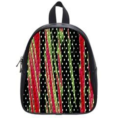 Alien Animal Skin Pattern School Bags (Small)