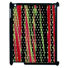 Alien Animal Skin Pattern Apple iPad 2 Case (Black)