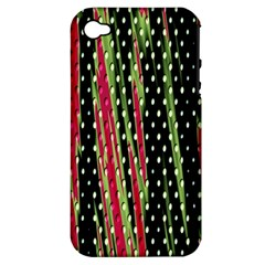 Alien Animal Skin Pattern Apple iPhone 4/4S Hardshell Case (PC+Silicone)