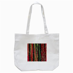 Alien Animal Skin Pattern Tote Bag (White)