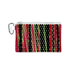 Alien Animal Skin Pattern Canvas Cosmetic Bag (S)