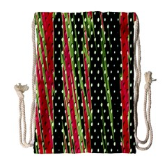 Alien Animal Skin Pattern Drawstring Bag (Large)