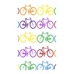 Rainbow Colors Bright Colorful Bicycles Wallpaper Background Memory Card Reader